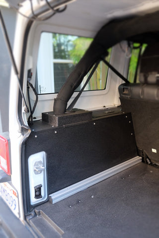 Jeep JKU Side Cubbies for 2007-2018 Jeep JK Unlimited (4 door).