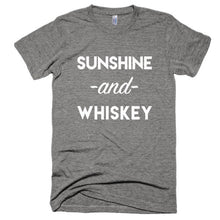 Sunshine and Whiskey Short sleeve soft t-shirt
