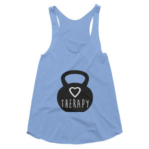 Therapy kettlbell racerback tank