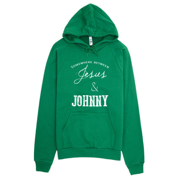Somewere between Jesus and Johnny Country Music, Festival Hoodie