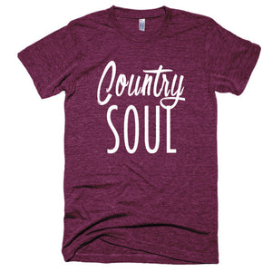 Country Soul Short sleeve soft, vintage feel, t-shirt