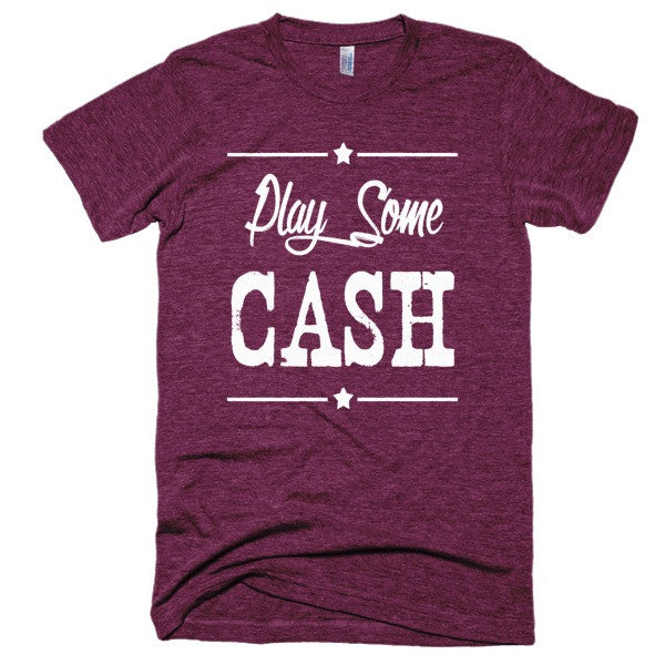 Play some Cash Country Music, Festival Short sleeve soft t-shirt
