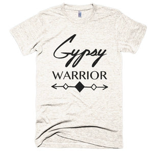 Gypsy Warrior Boho, Vintage style, short sleeve soft t-shirt