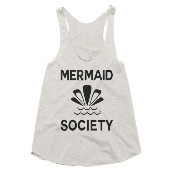 Mermaid Society racerback tank