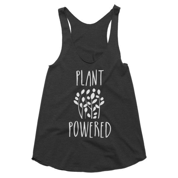 Plant Powered vegan vegetarian racerback tank