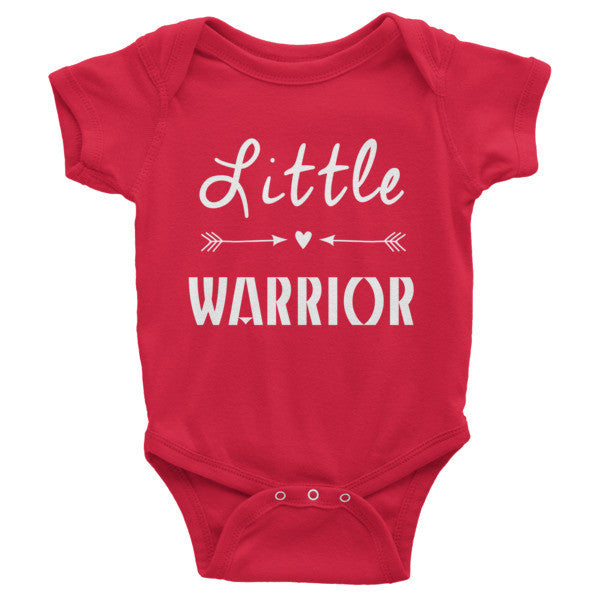 Little Warrior Infant short sleeve one-piece onesie
