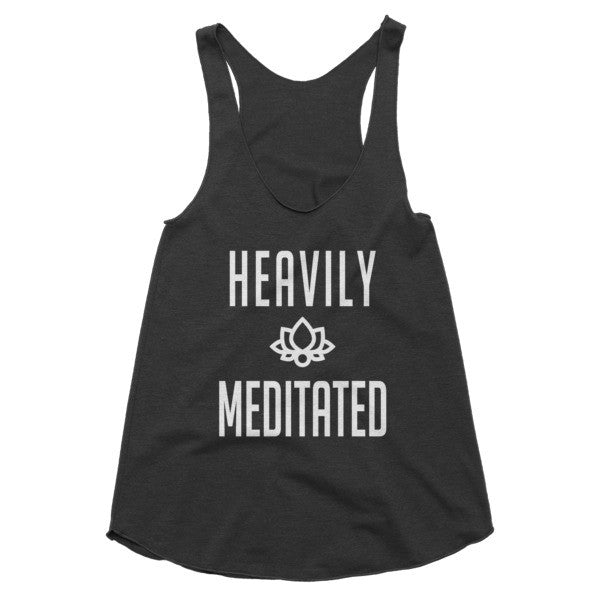 Heavily Meditated racerback tank