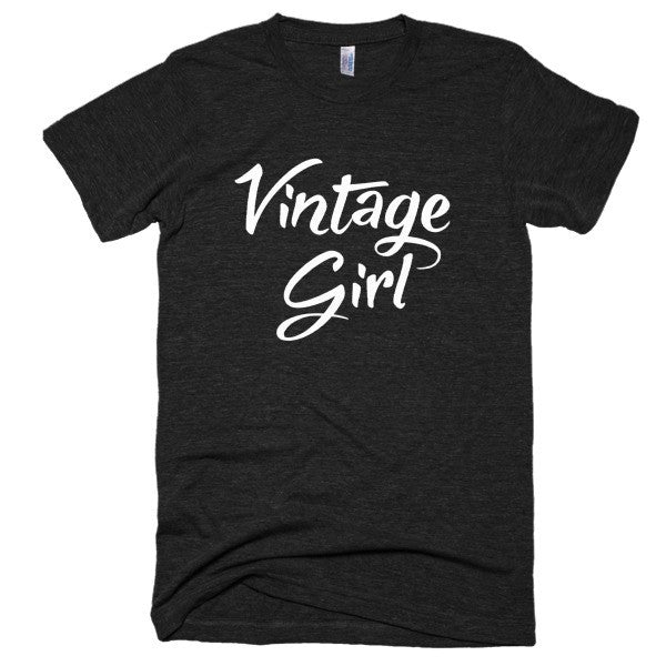 Vintage Girl Short sleeve soft t-shirt