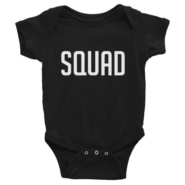 Squad Infant short sleeve one-piece, onesie