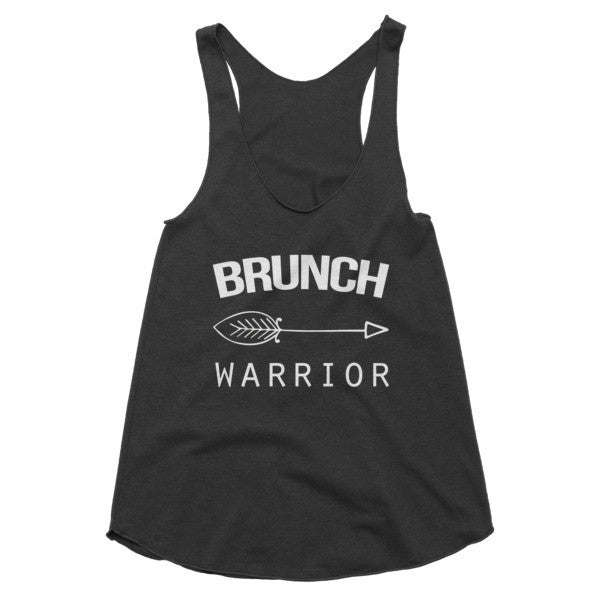 Brunch Warrior racerback tank