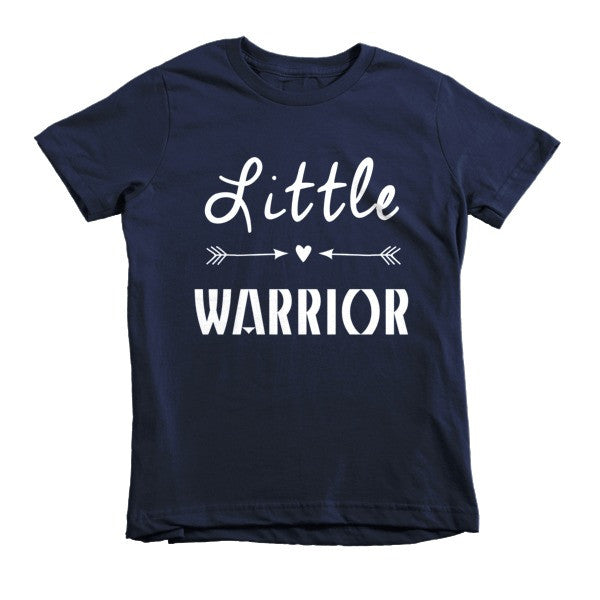 Little Warrior boho style short sleeve kids t-shirt