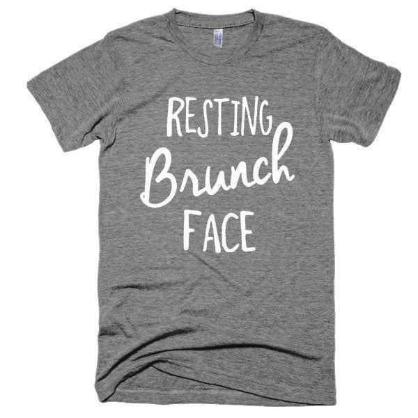 Resting Brunch Face Short sleeve soft t-shirt