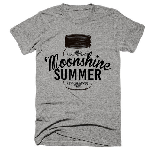 Moonshine Summer, festival, super soft, unisex, t-shirt