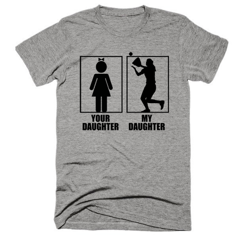 Your daughter, my daughter, softball, unisex, Short sleeve, super, soft t-shirt