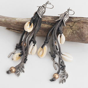 Silver & Shells Earrings