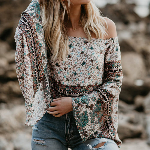 Petals Off the Shoulder Top
