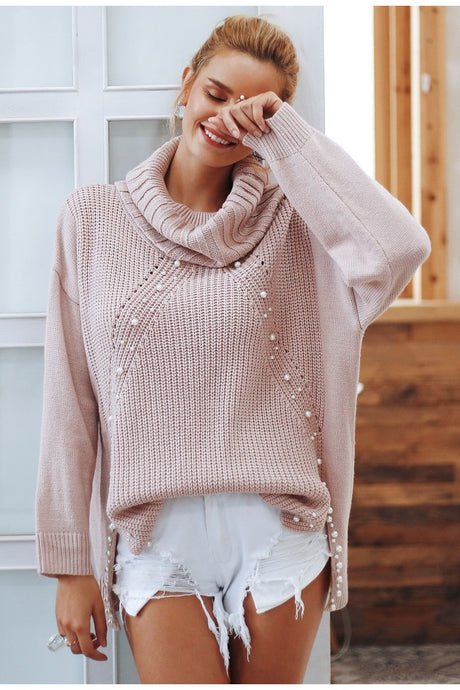 Candy Turtleneck Sweater