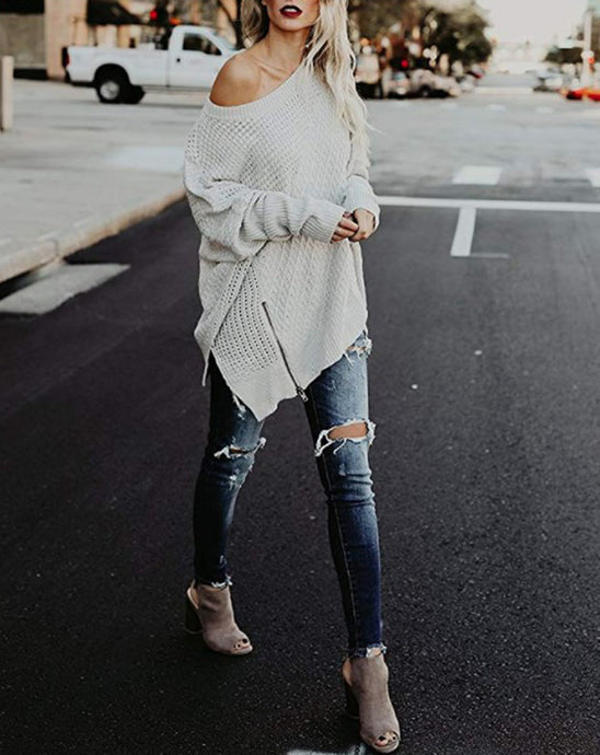 Marley Off Shoulder Sweater