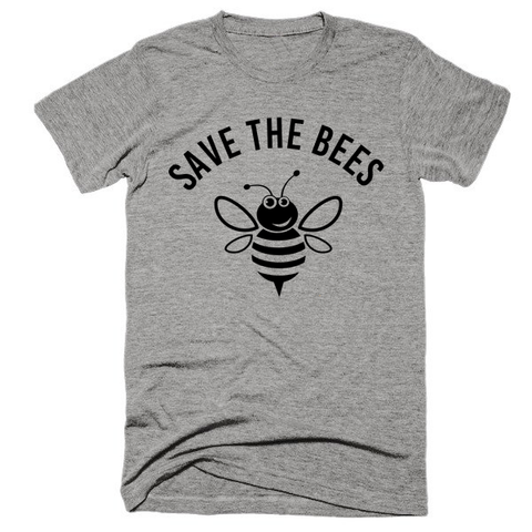 Save the Bees, Unisex, Short sleeve, super, soft t-shirt
