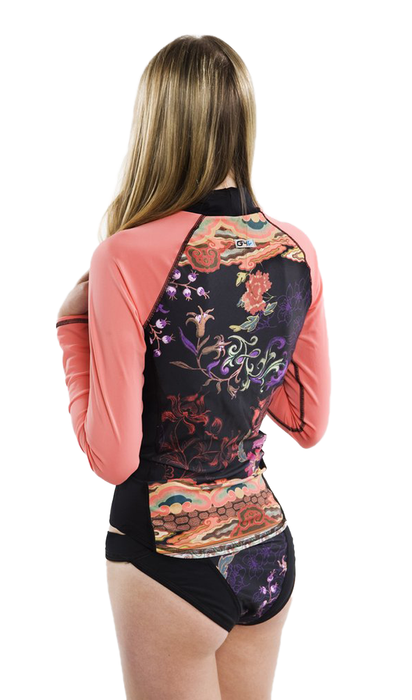 Long Sleeve Rash Guard - Bali