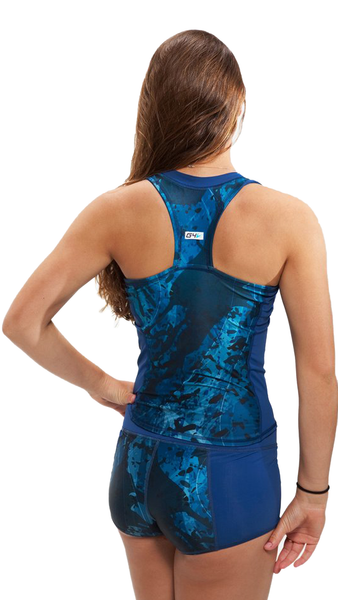 Sports Tank Rash Guard - Pisces