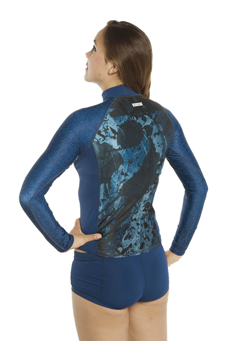 Long Sleeve Rash Guard- Pisces