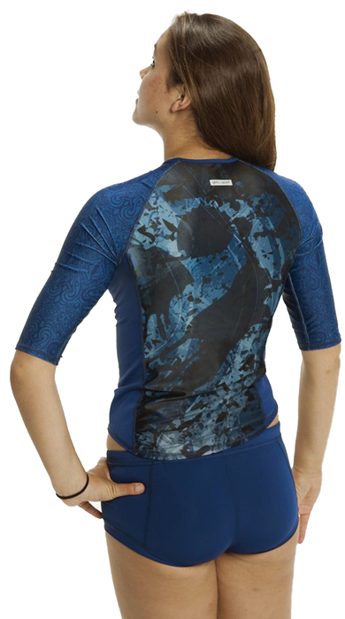 Half Sleeve Rash Guard - Pisces