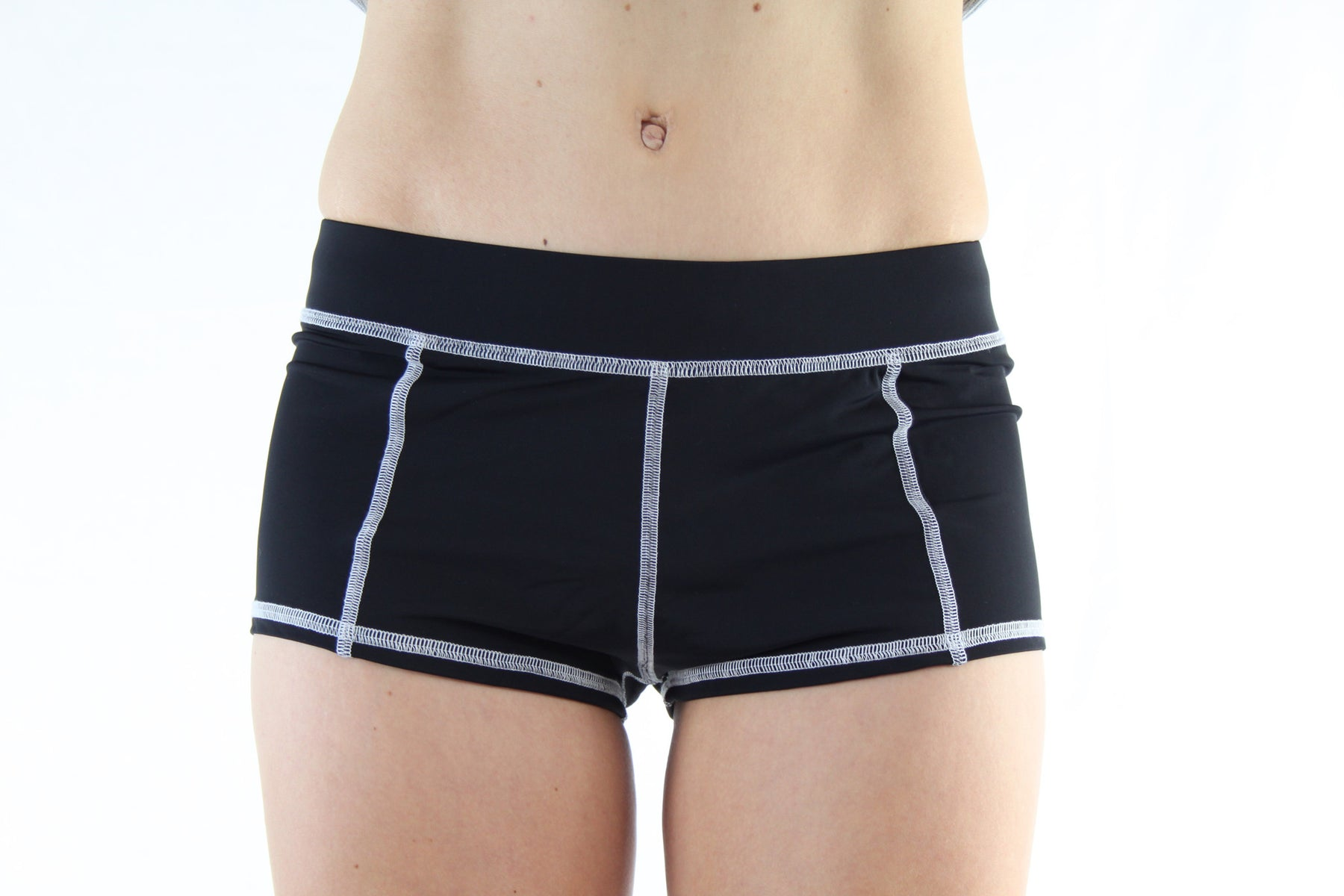 Boy Brief - Black/White
