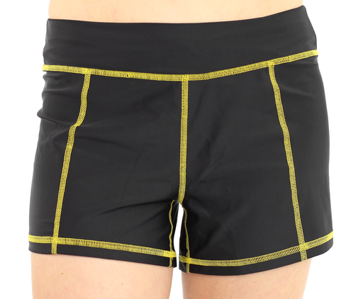 Full Short - Black/Yellow