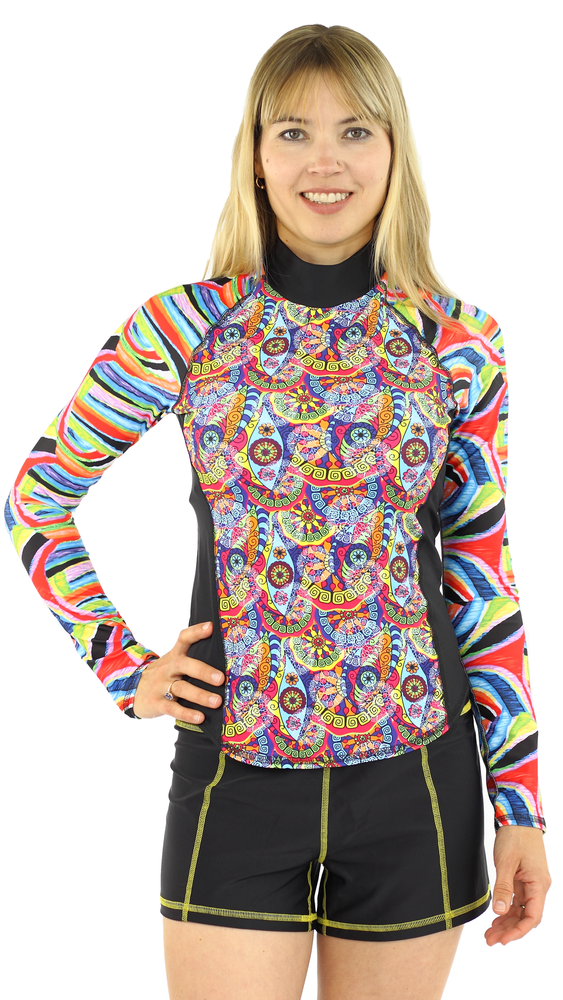 Long Sleeve Rash Guard - Trance