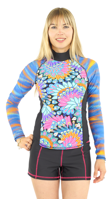 Long Sleeve Rash Guard - Maui