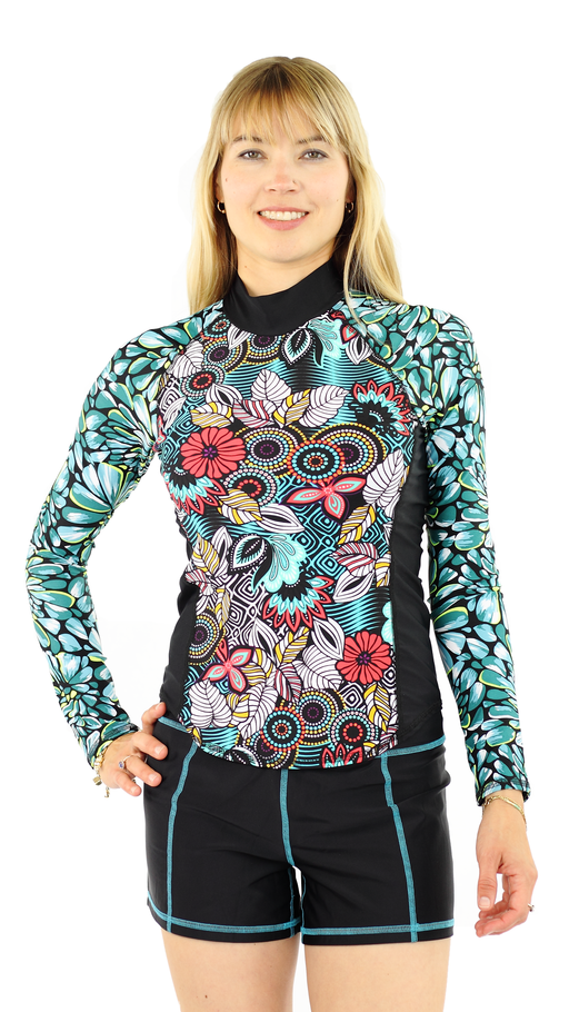 Long Sleeve Rash Guard - Fever
