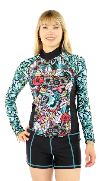 Girls4sport - Long Sleeve Top - Fever