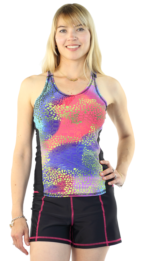 Sports Tank Rash Guard - Abstrakt