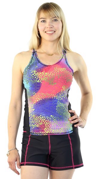 Girls4sport - Sports Tank - Abstrakt