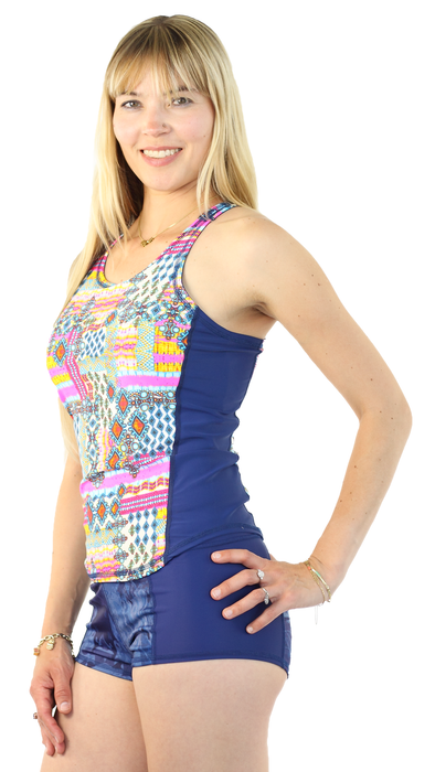 Sports Tank Rash Guard - Breeze