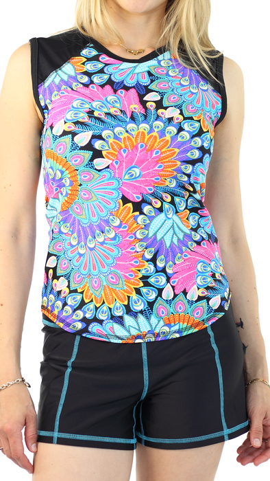 Full Short - Black/Turquoise