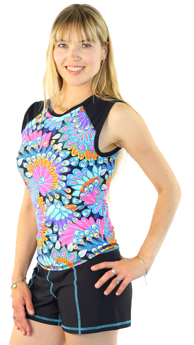 Sleeveless Rash Guard - Maui