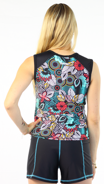 Sleeveless Rash Guard - Fever