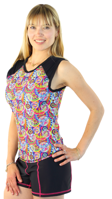Sleeveless Rash Guard - Trance