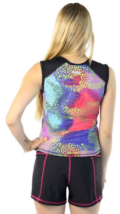 Sleeveless Rash Guard - Abstrakt