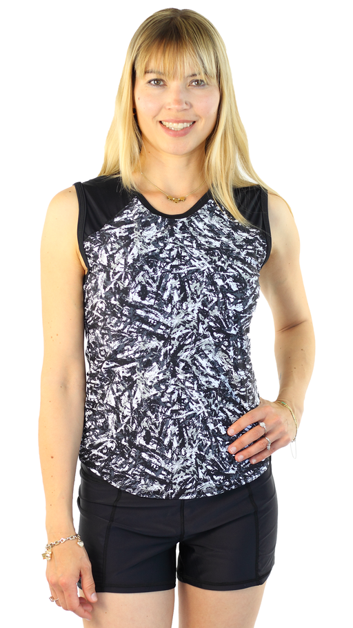 Sleeveless Rashguard - Night By Day