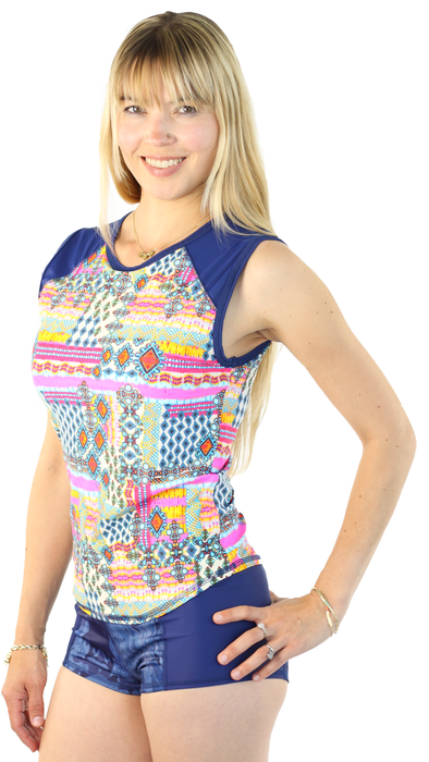 Sleeveless Rash Guard - Breeze