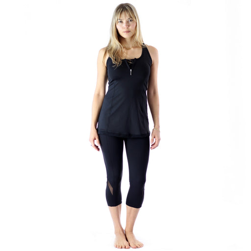 Zipper Tank With Mesh