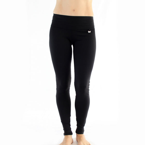 Zipper Legging With Piping