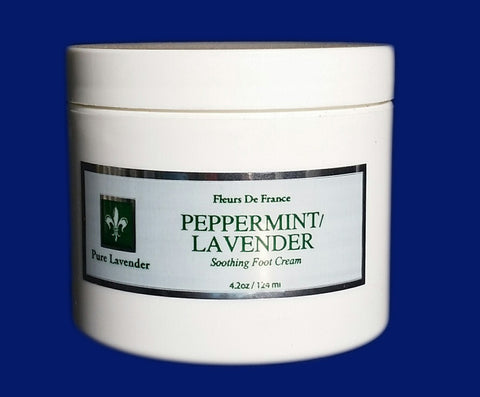 Peppermint Lavender Foot Cream