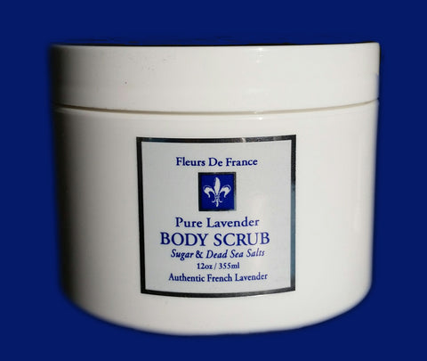 Fleur de France-Polish & Renew Body Scrub