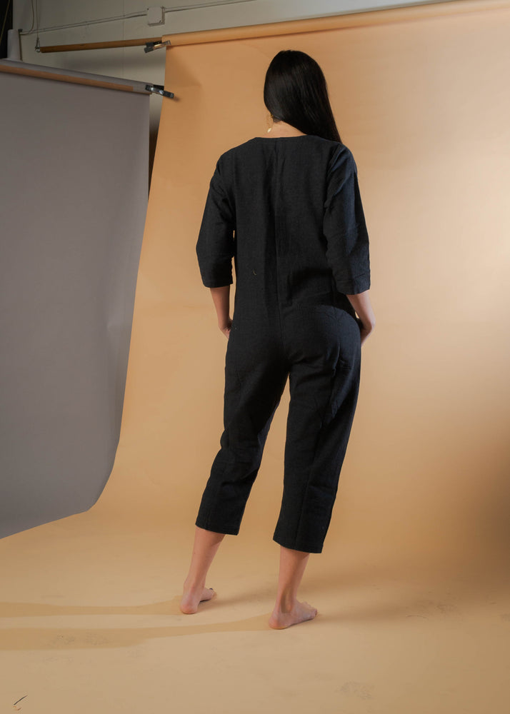 Black on Black Jumpsuit