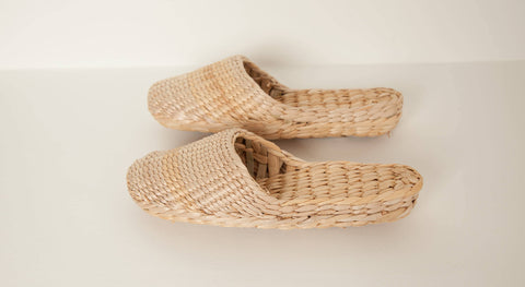 Handwoven Slippers || Folk Fortune