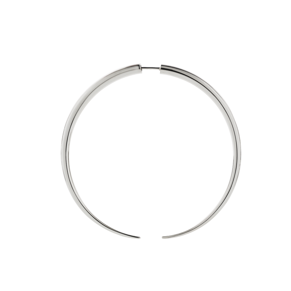 Crescent Hoop Earring (Large) - SINGLE || Meadowlark